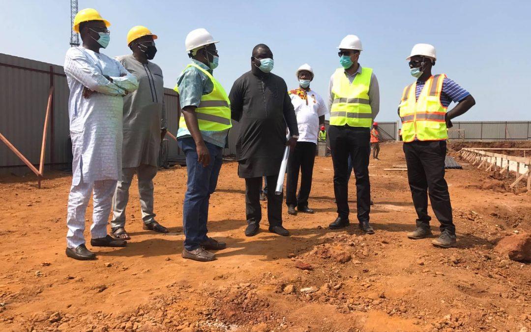 Visite de chantier du Groupe Guicopres